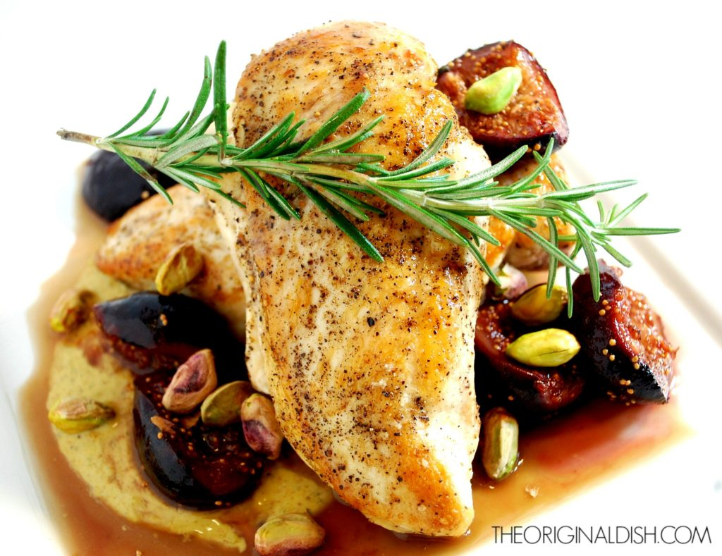 Seared Chicken with Figs