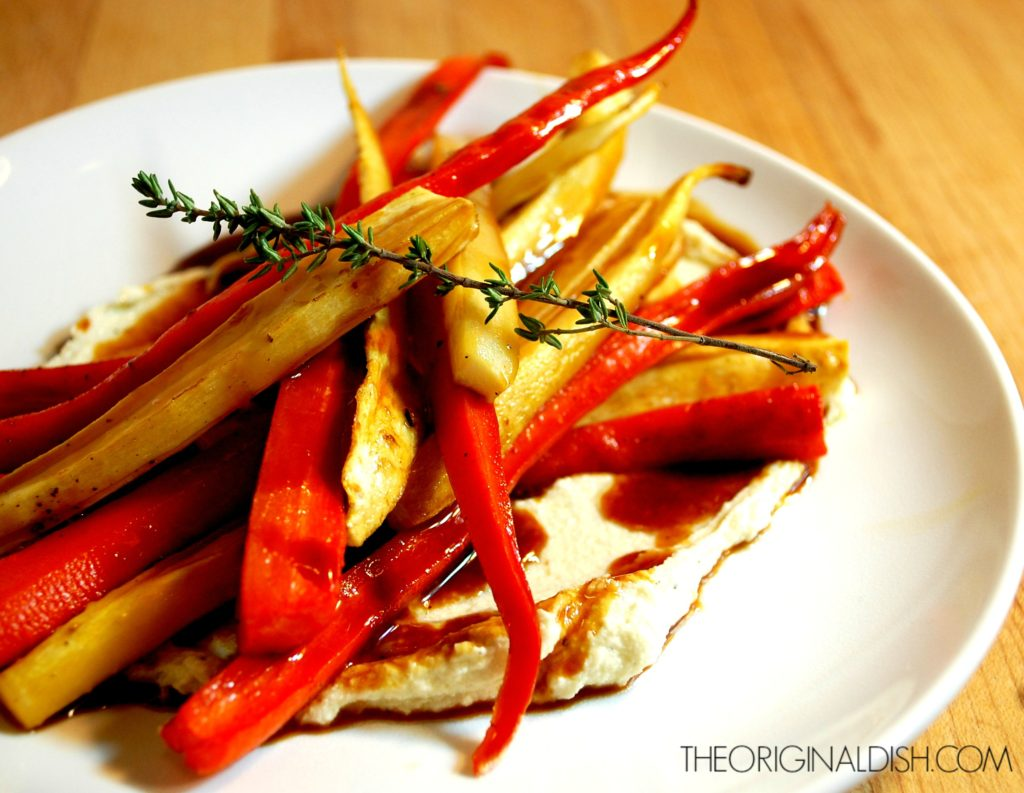 Roasted Carrots & Parsnips with Sweet Apple Glaze and ...