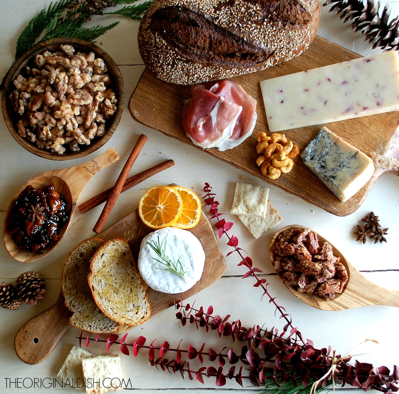 Holiday Appetizer Spread