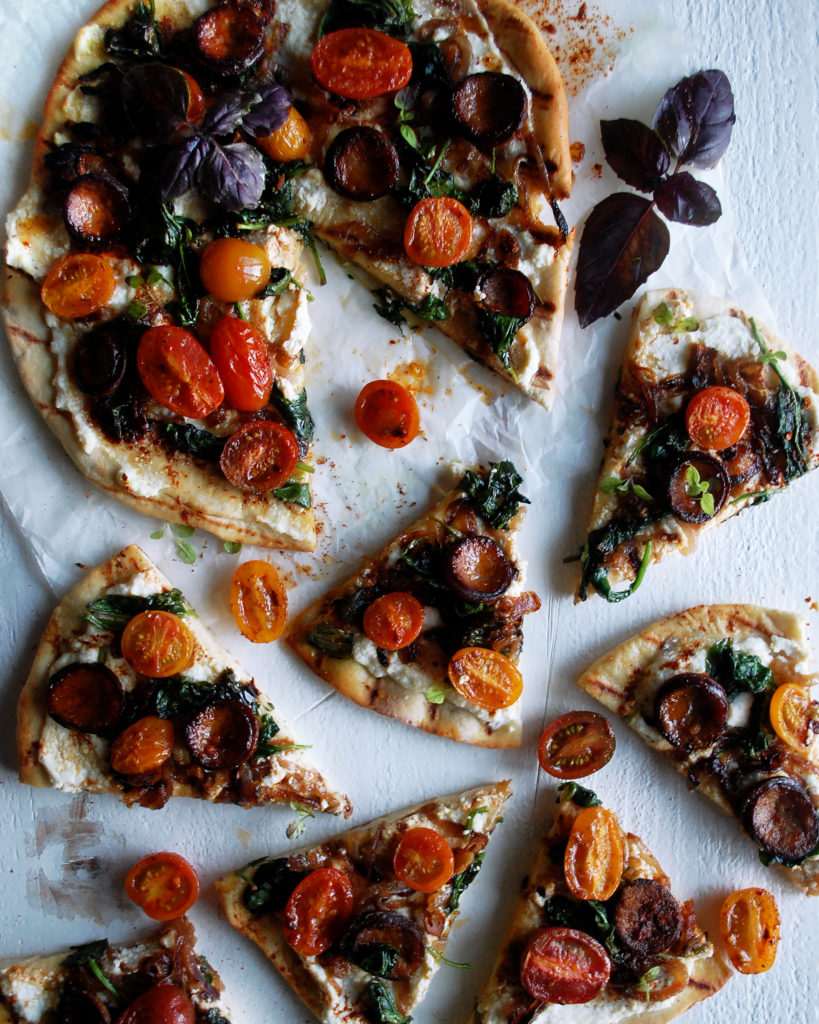 Spicy Chorizo Flatbread