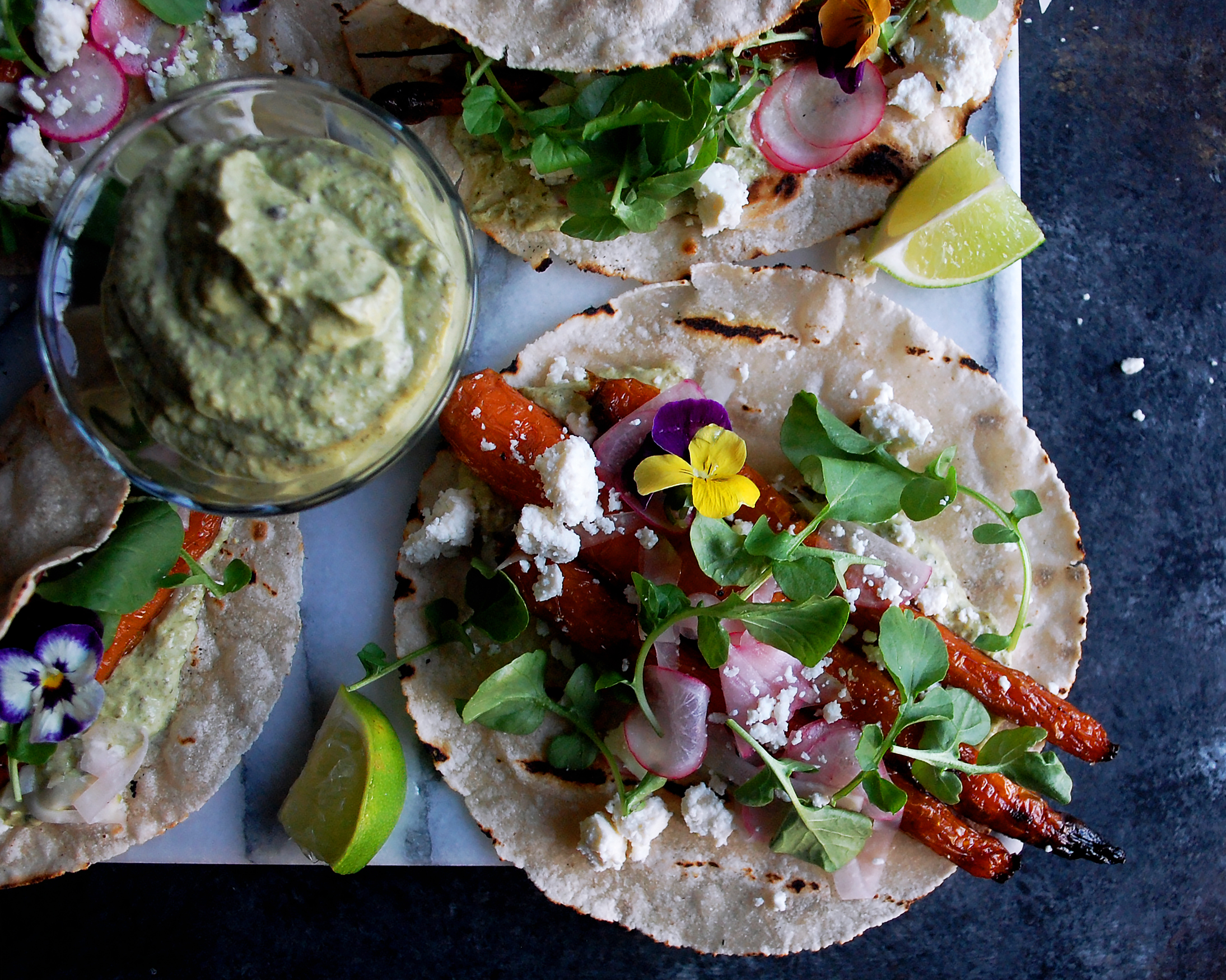 Smoked Carrot Tacos