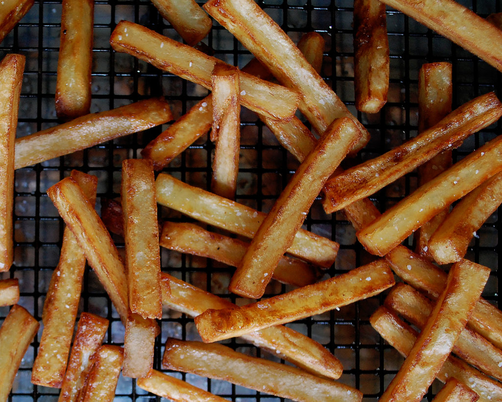 How to Make Crispy French Fries