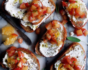 Apple Ricotta Toast
