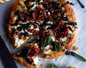 Autumn Squash Burrata Pizza