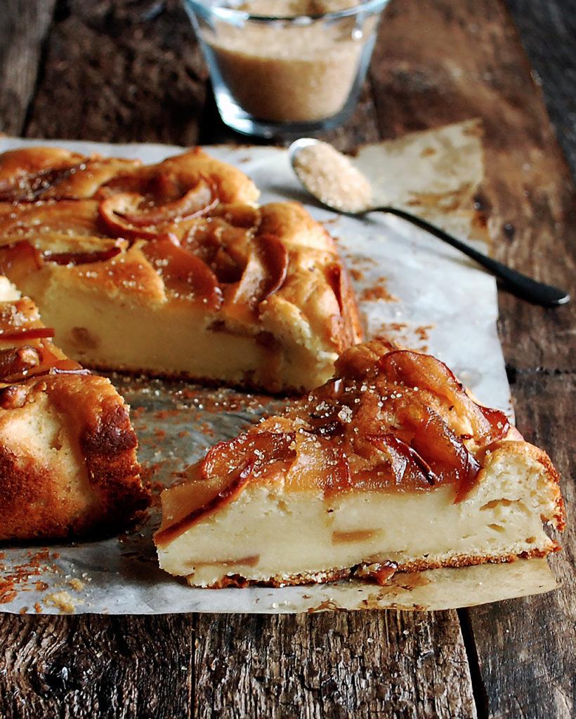 Apple Ricotta Cake