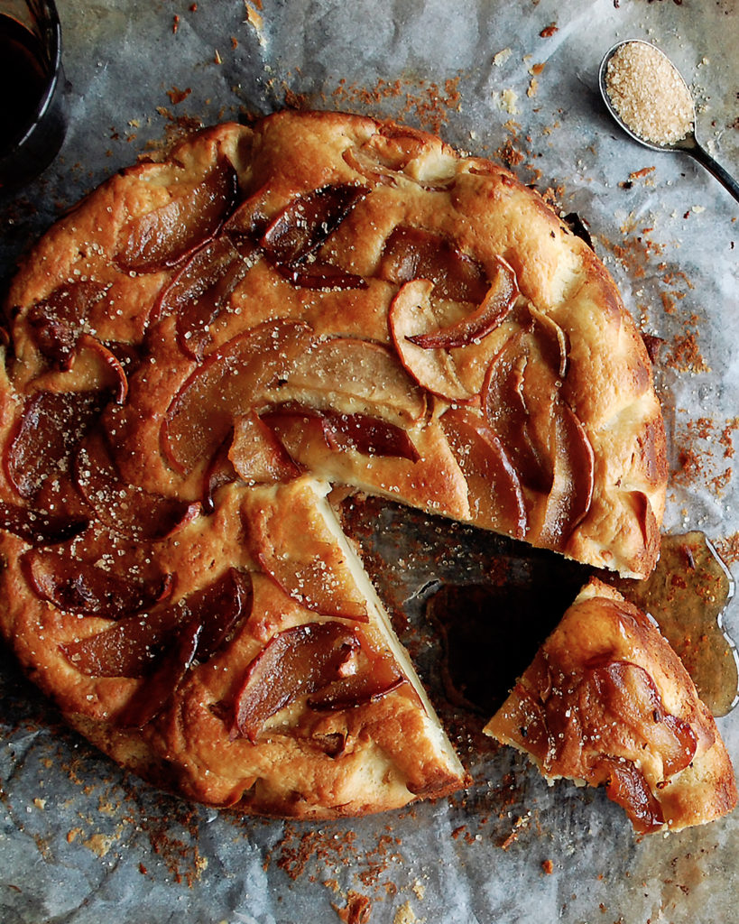 Apple Ricotta Cake