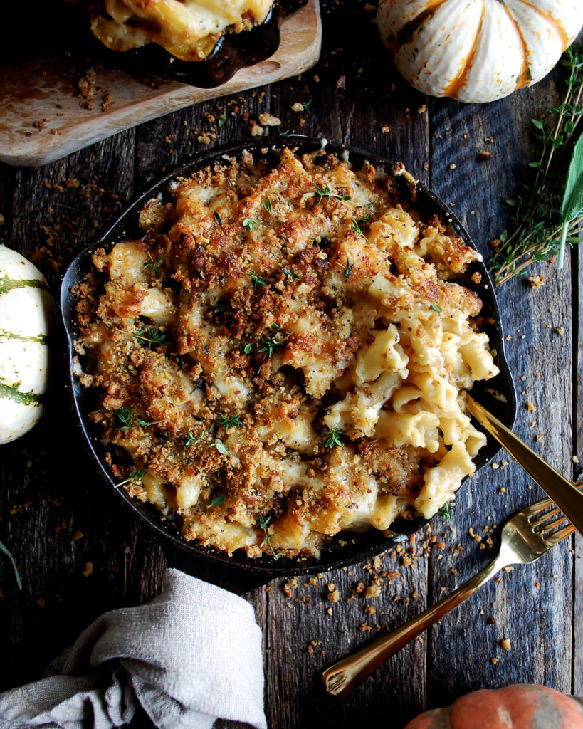 Baked Squash Mac & Cheese