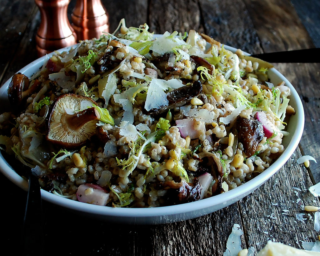 Winter Barley Salad