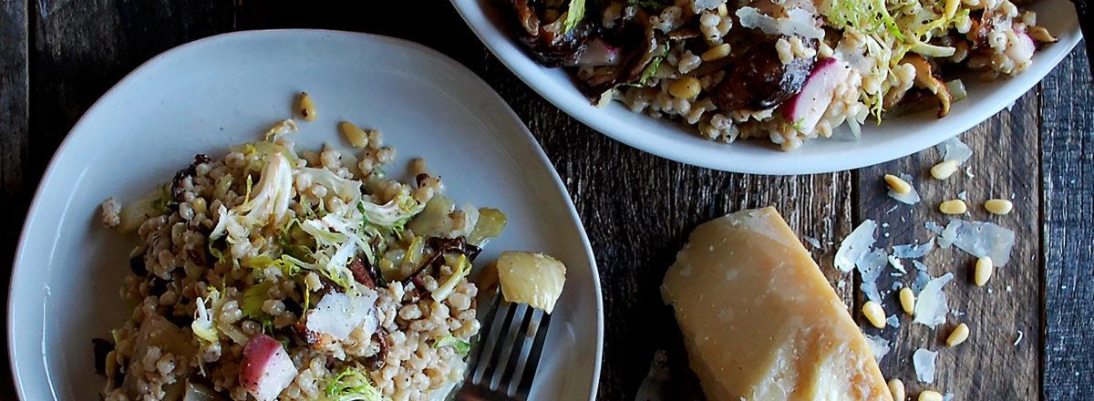 Winter Barley Salad