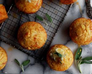 Apple Cornbread Muffins