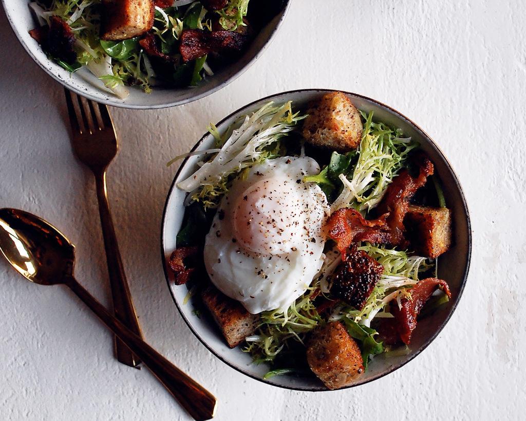 Frisee & Arugula Salad