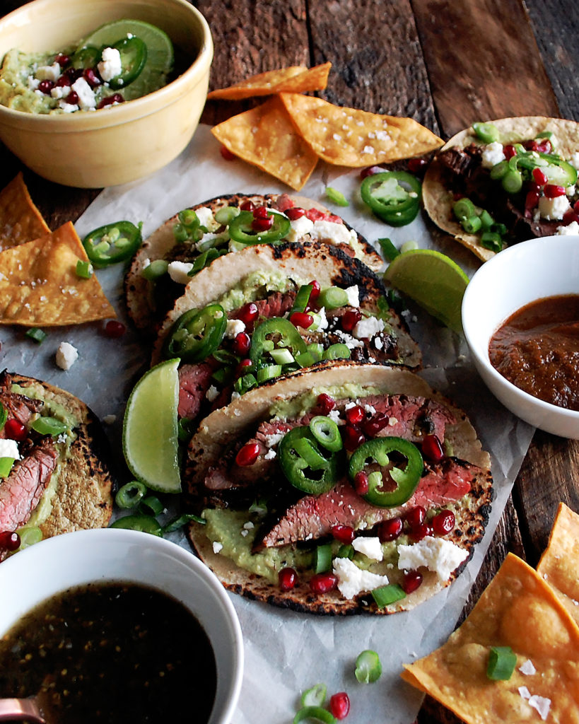 Citrus Marinated Steak Tacos