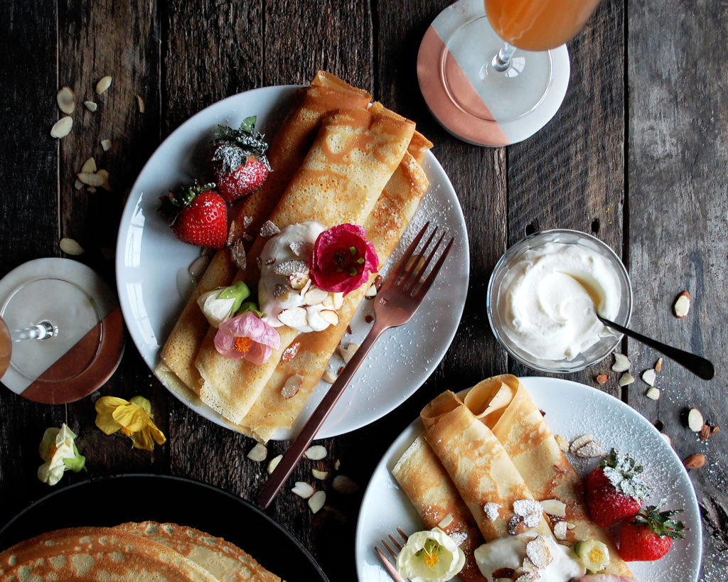Amaretto Crepes