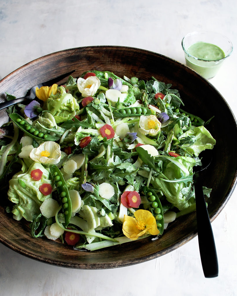 Basil Yogurt Dressing