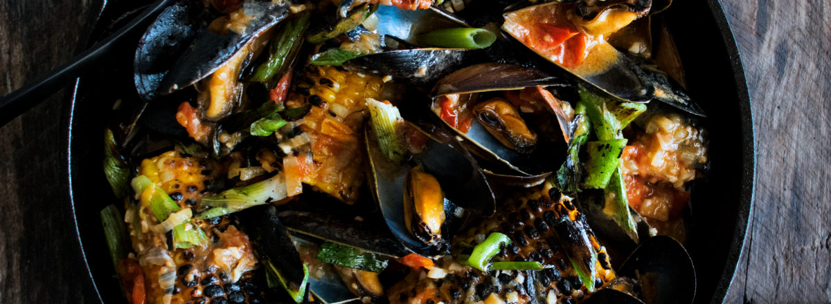 Coconut Mussels