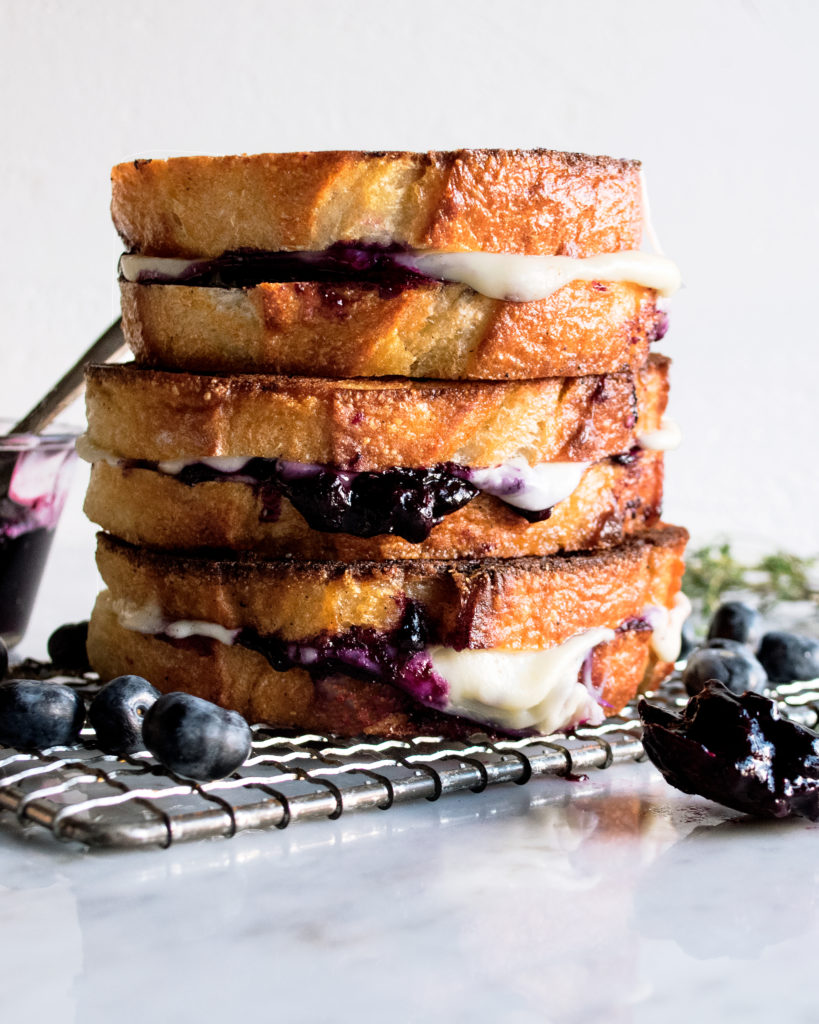 Blueberry White Cheddar Grilled Cheese