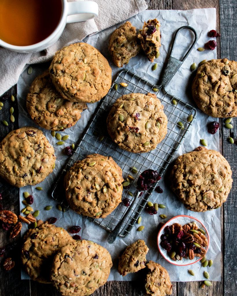 Brown Butter Harvest Cookies