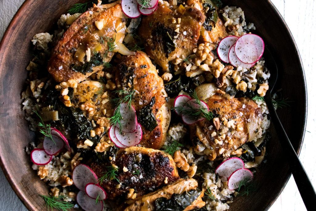 Crispy Braised Chicken