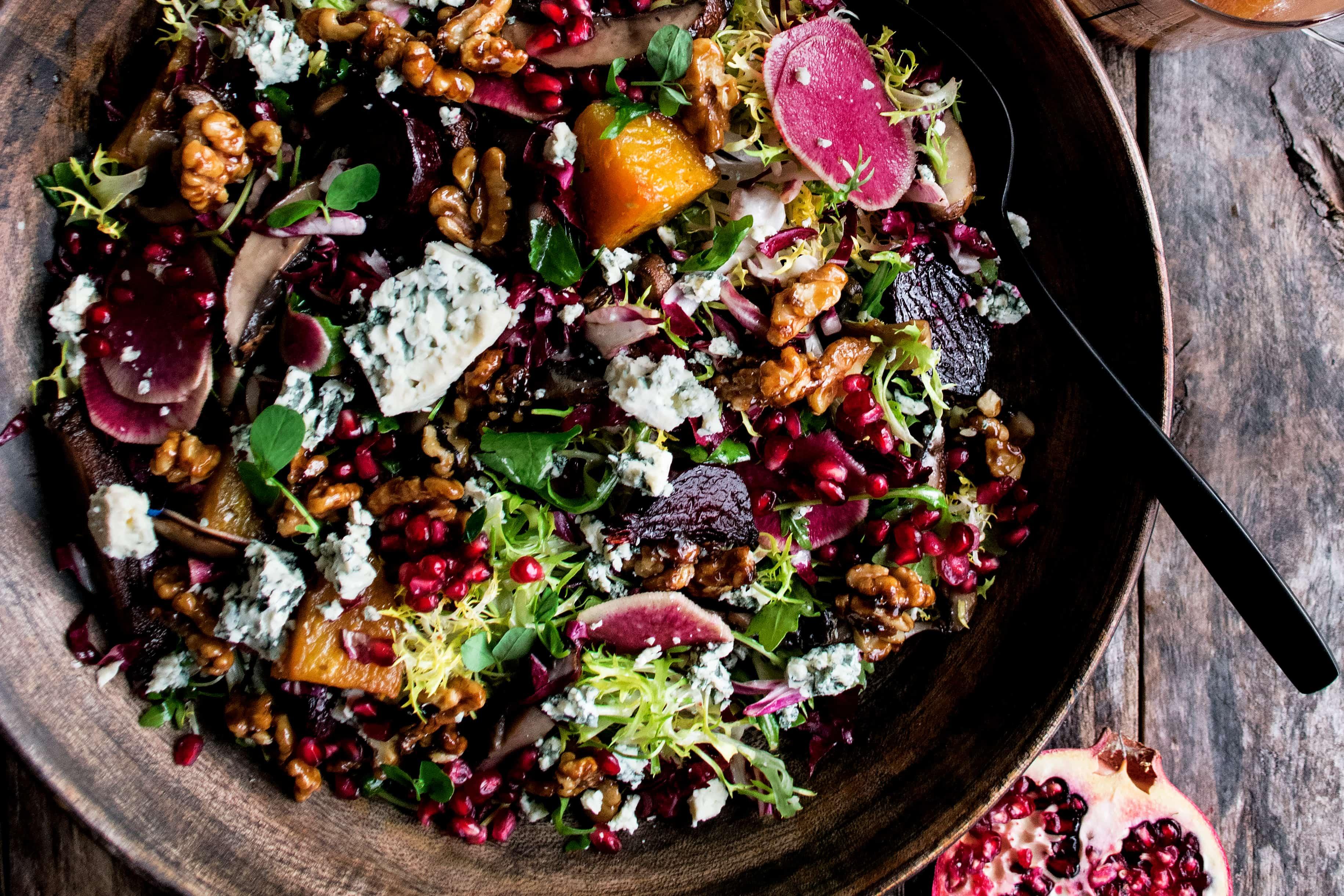 Salad Recipes Nz Pomegranate