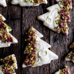 Pistachio Rose Sugar Cookies