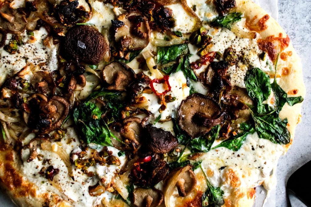 Winter Burrata Pizza