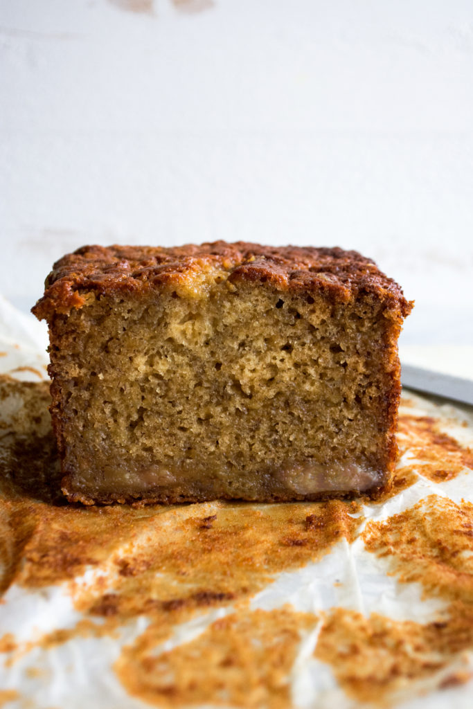 Brown Butter Caramelized Banana Bread