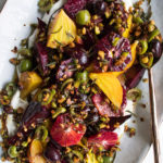 Roasted Beets with Blood Oranges