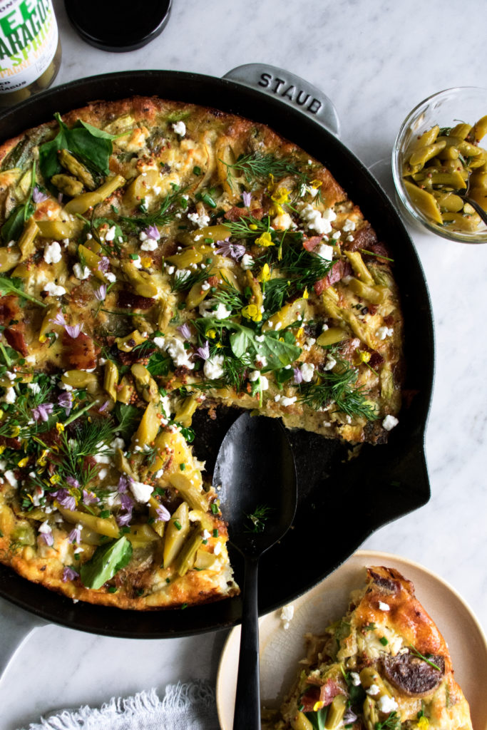 Potato Bacon Frittata