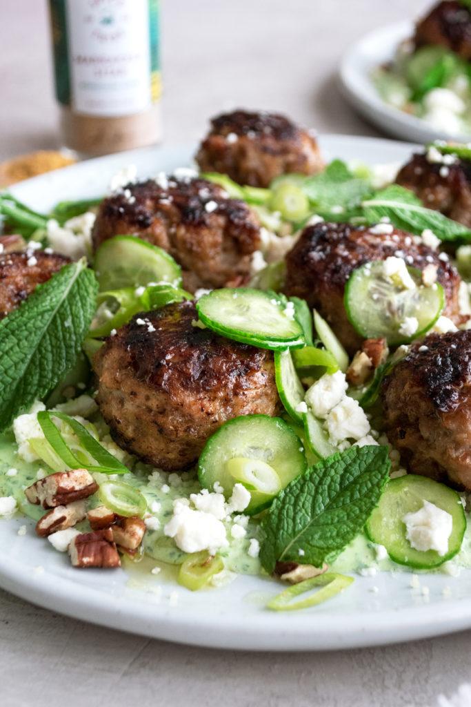Moroccan Chicken Meatballs