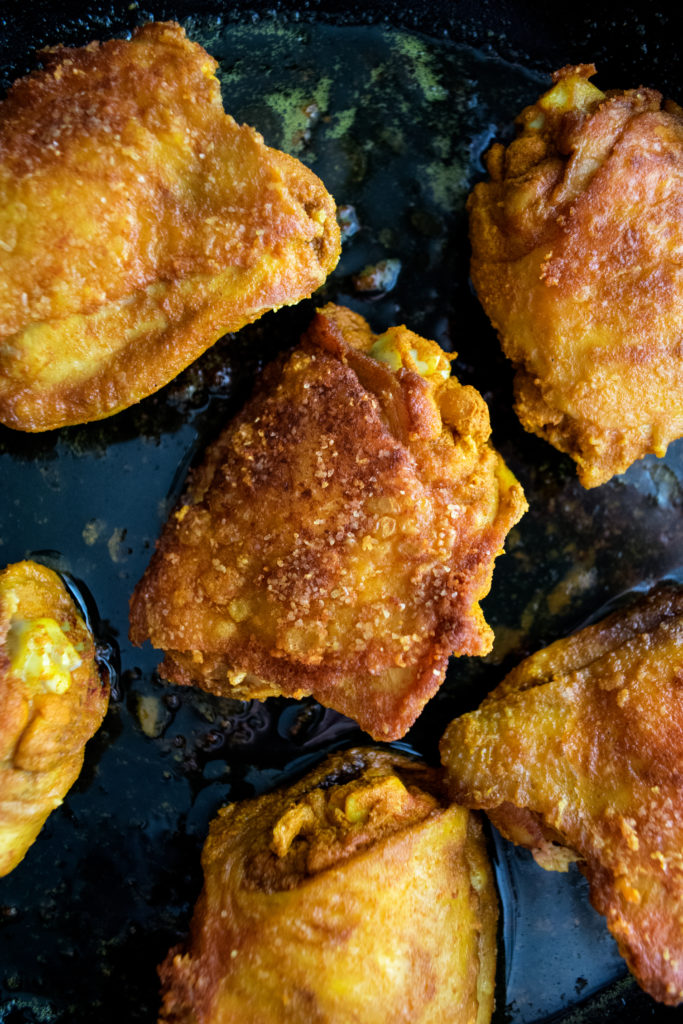 Crispy Turmeric Chicken