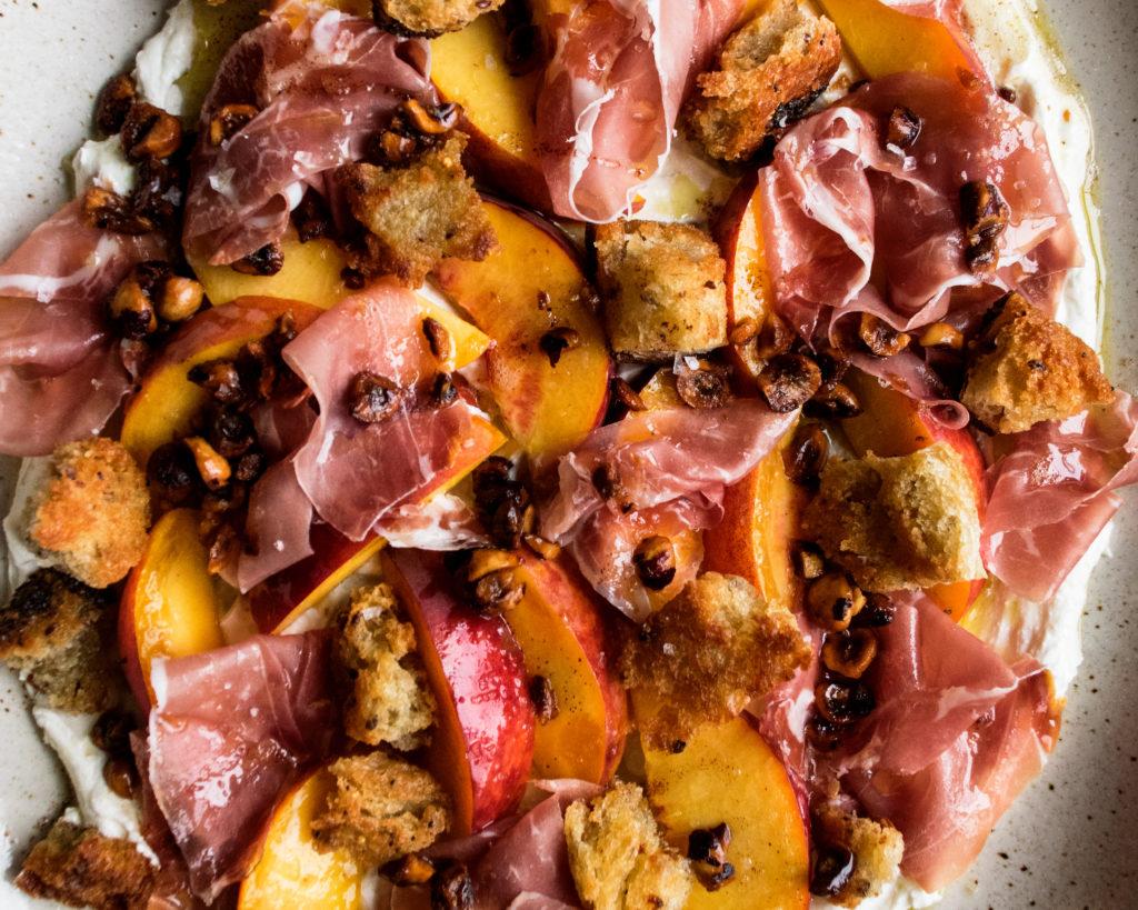 Peaches & Prosciutto