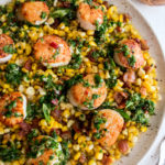 Scallops with Sautéed Corn