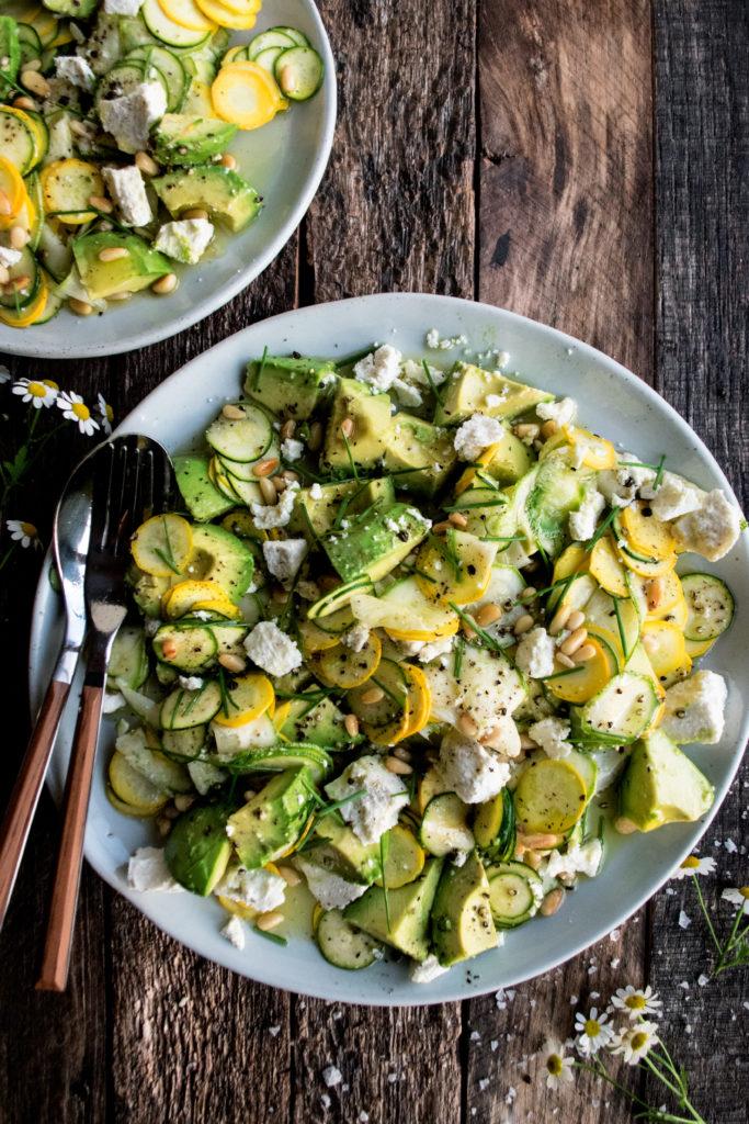Summer Squash Salad