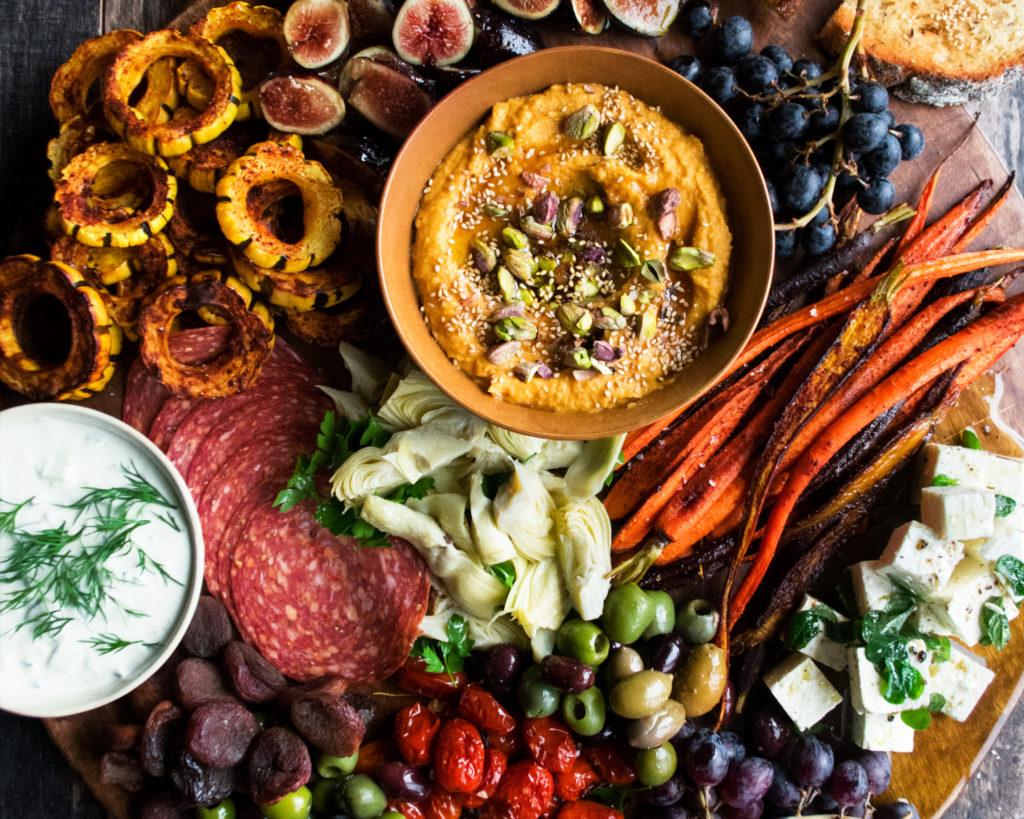 Autumn Mezze Platter