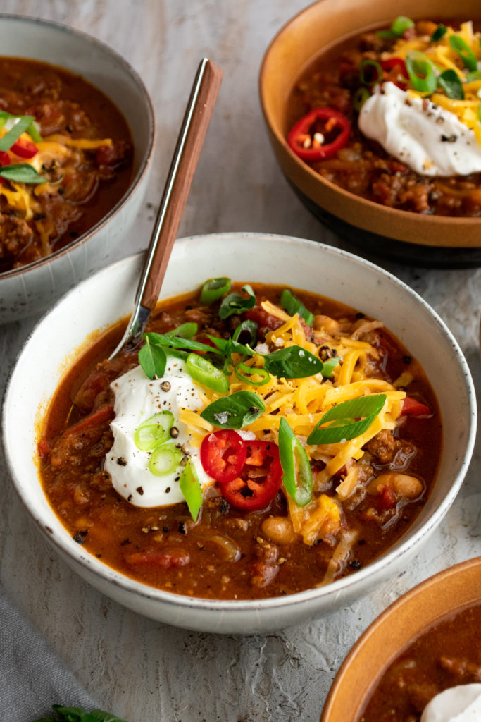 Pumpkin Chorizo Chili