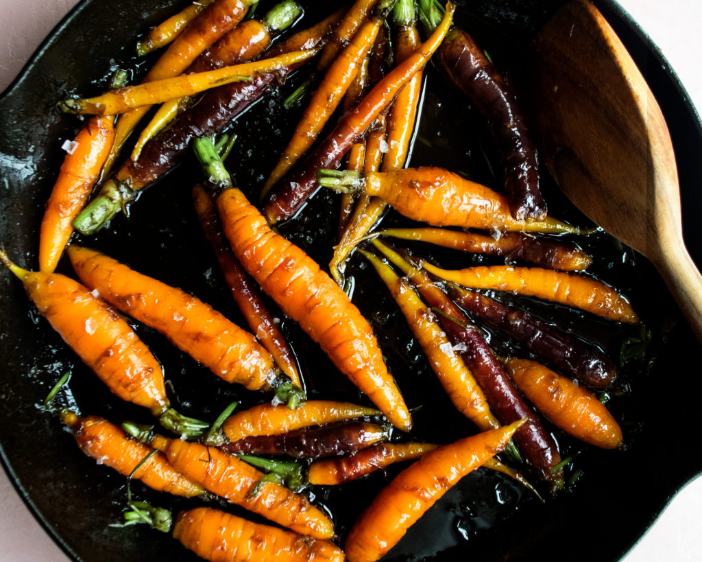 Brown Sugar Glazed Carrots
