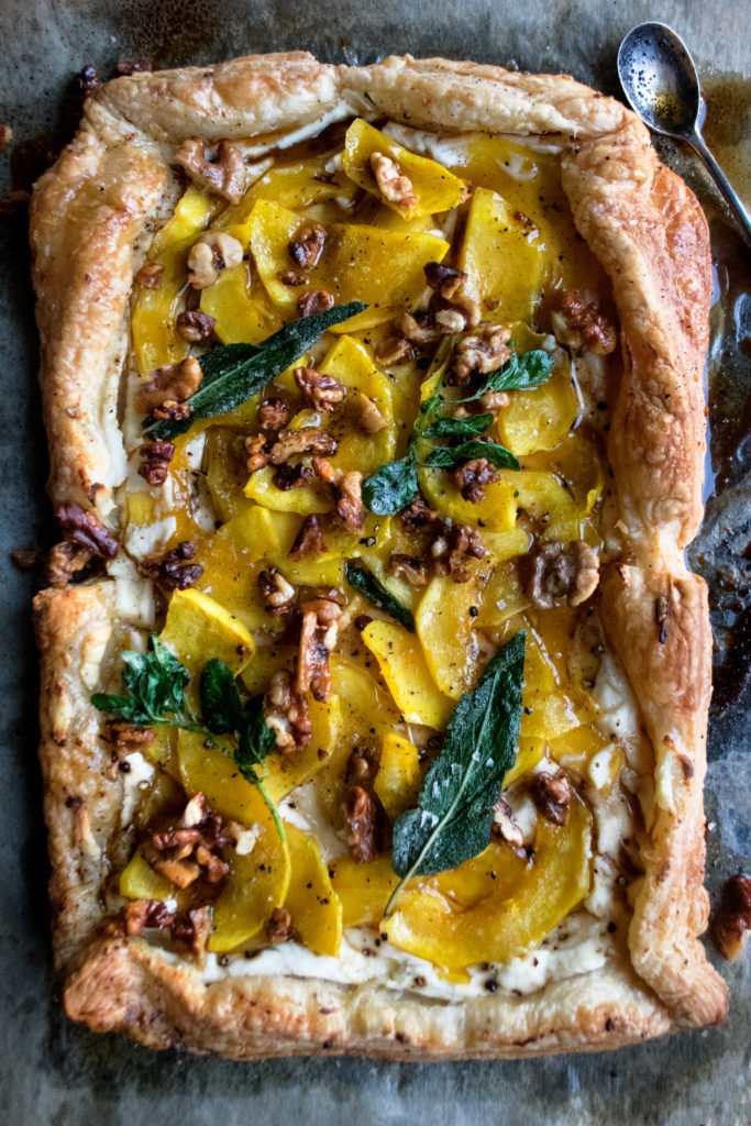 Maple Squash Tart