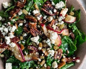 Roasted Apple Salad