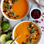 Thai Coconut Sweet Potato Soup