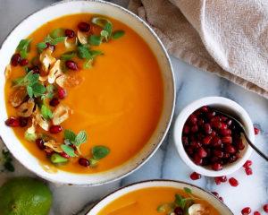 Thai Coconut Sweet Potato Soup