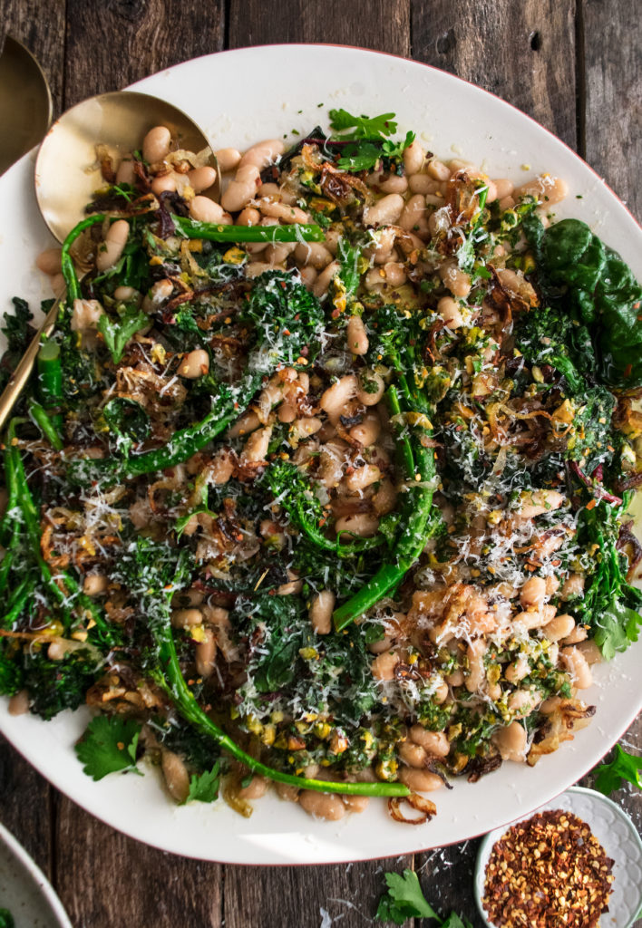 Broccolini with Crispy Shallots