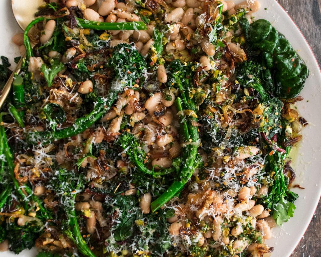 Broccolini with Crispy Shallots