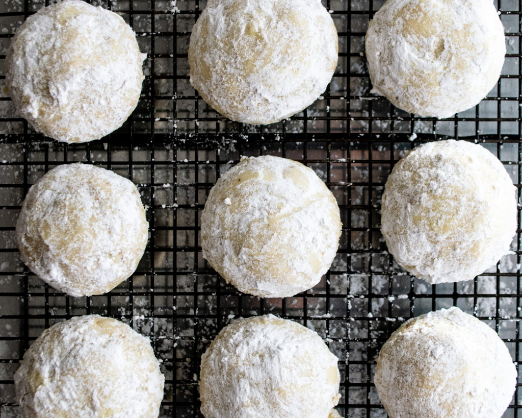 Butter Pecan Snowball Cookies
