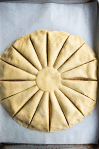 Christmas Morning Star Bread