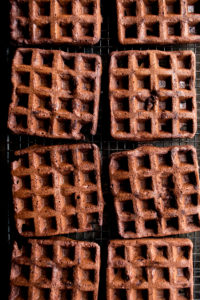 Waffles in a Row