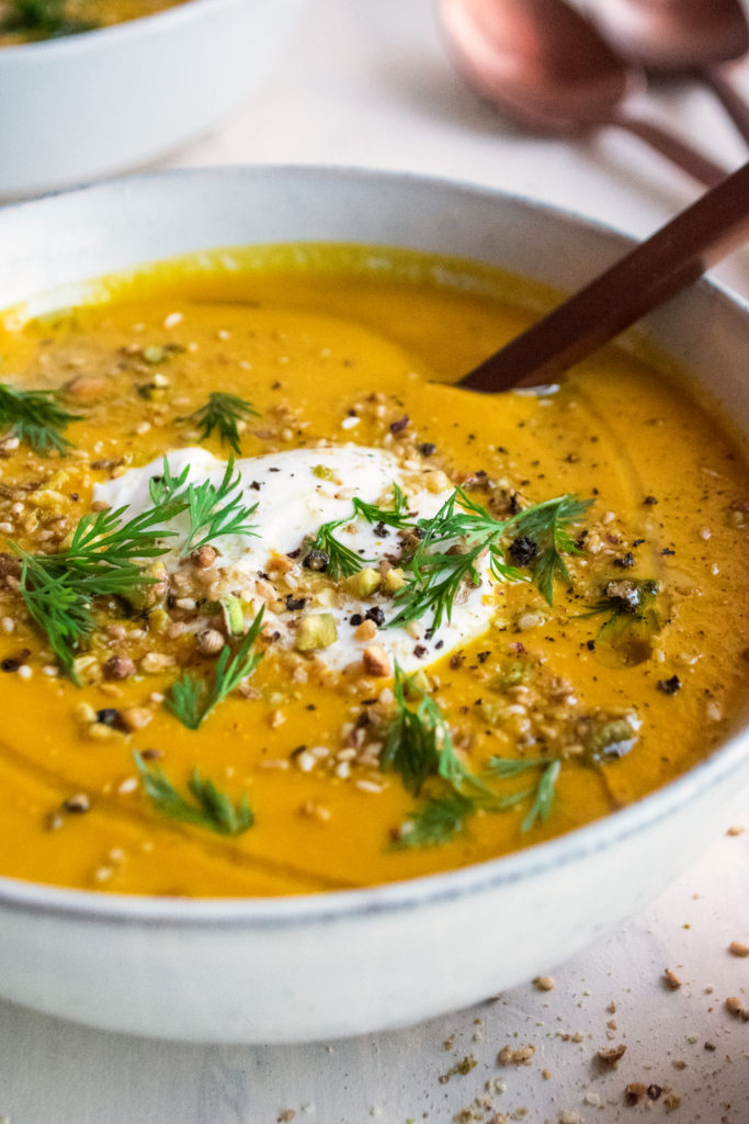 Golden Carrot Soup