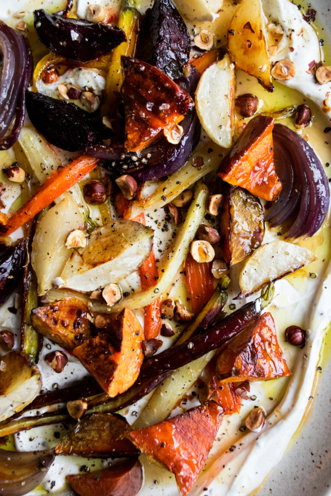 Honey Roasted Winter Vegetables