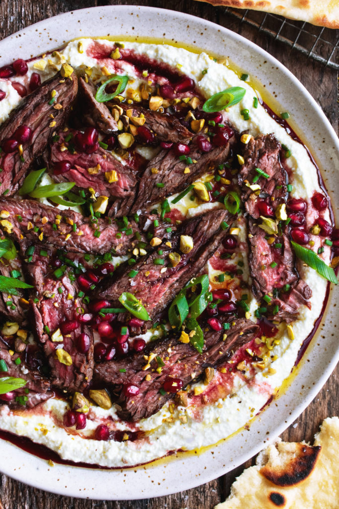 Pomegranate Skirt Steak