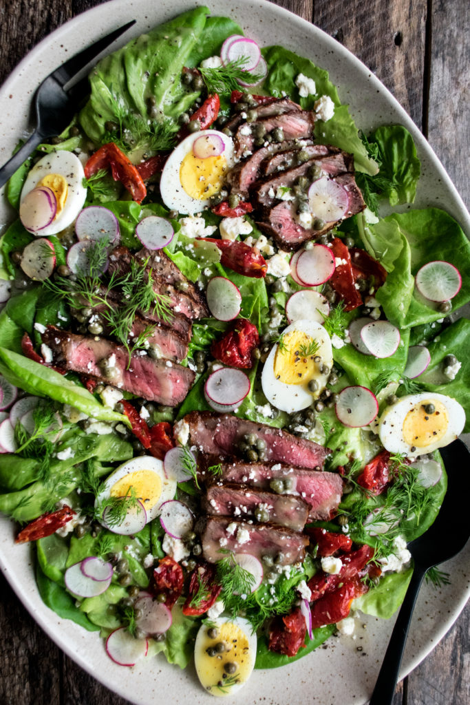 Steak & Egg Salad