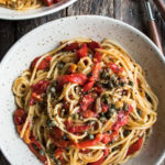 Roasted Red Pepper Pantry Pasta